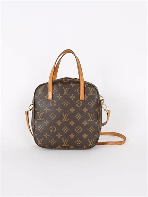 louis vuitton spontini monogram cosmetic bag luxury bags