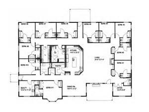floor plans for ranch homes large ranch house plans smalltowndjs