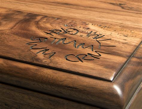 wood countertops  embossed engraving  grothouse