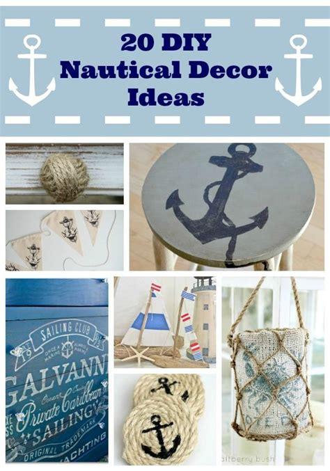 Beach Themed Bathroom Decor Ideas by Best 25 Nautical Decor Ideas Ideas On Pinterest Diy