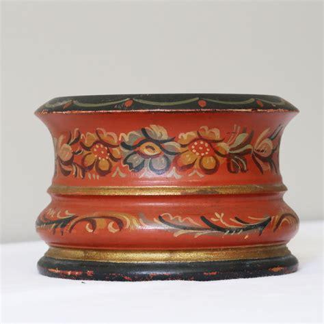 wine bottle coaster amazon antique scandinavian painted treen pot from