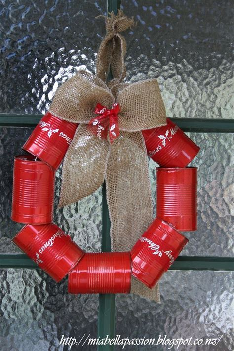 diy tin  wreath  christmas hometalk