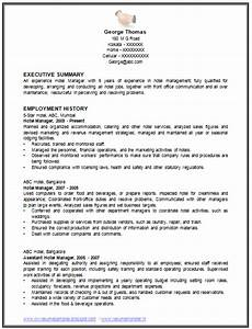 over 10000 cv and resume samples with free download With resume templates for restaurant managers