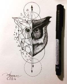 tatouage géométrique homme les 25 meilleures id 233 es de la cat 233 gorie tatouage hiboux