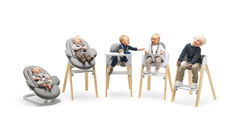 stokke steps three in one bouncer high chair our must