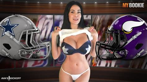 tnf cowboys  vikings odds sexy game preview presented