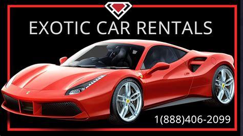 Exotic Car Rental Miami At Luxury Car Rental Usa