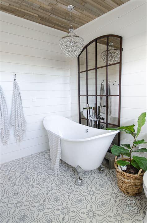 farmhouse bathroom tile ideas farmhouse master bathroom remodel Farmhouse Bathroom Tile Ideas