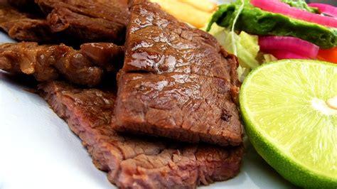 sauge cuisine free photo steak asada plate food free image