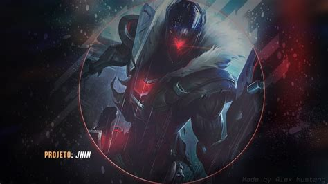 Jhin Animated Wallpaper - project jhin lol wallpapers