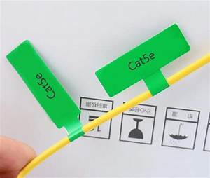 China Customized Network Cable Identification Tags