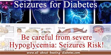 diabetic seizures  symptoms treatment
