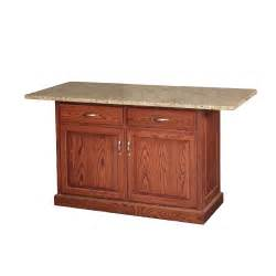 granite top kitchen island king dinettes custom dining