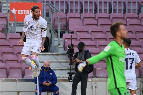 FC Barcelona 1-3 Real Madrid, El Clasico result: Sergio ...