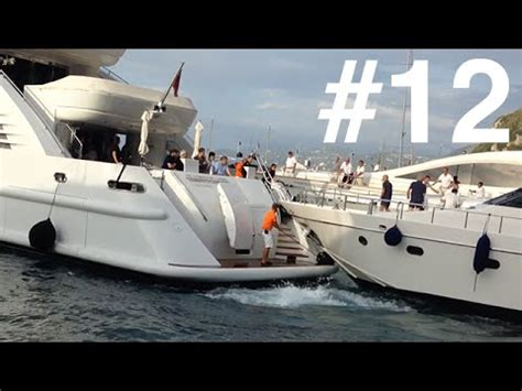 Yacht Accident by Super Yacht Crash Youtube