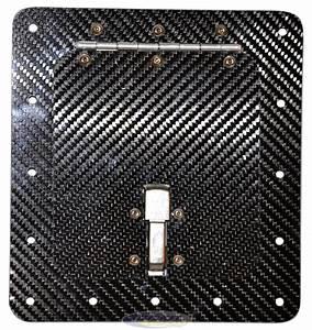 Fuel Access Door  Surface Mount   Carbon