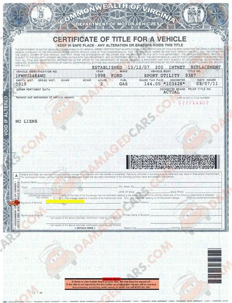 Rebuilt Vehicle Title by Title Driverlayer Search Engine