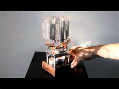 thermoelectric fan powered by a candle thermoelectric fan