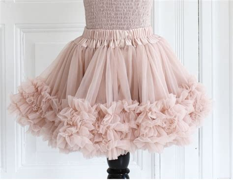 Ballet Pink Frilly Skirt, Dolly By Le Petit Tom| My Little