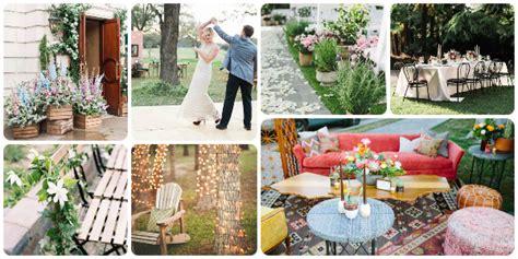 lovely backyard wedding decor ideas   perfect