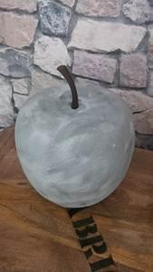 Beton Effekt Paste : dekoapfel aus polyresin mit beton effekt paste von viva decor bearbeitet betonoptik sieht aus ~ Eleganceandgraceweddings.com Haus und Dekorationen