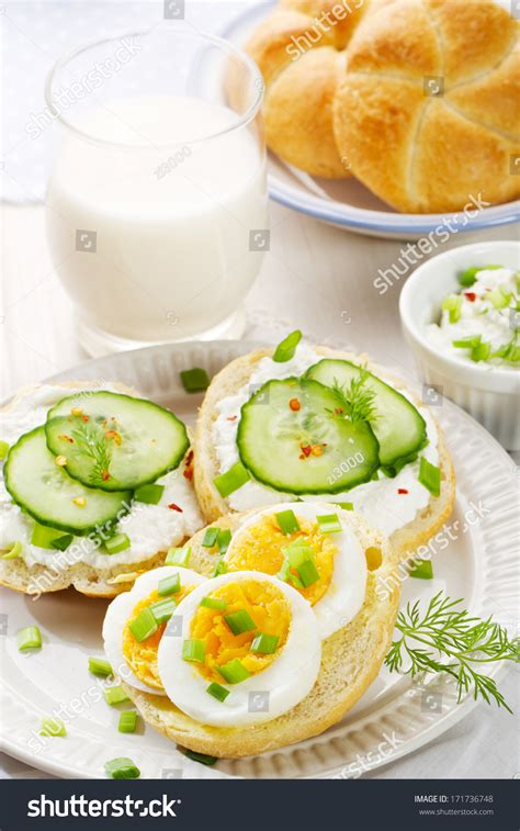fresh canapes healthy breakfast fresh canapes with egg cottage cheese