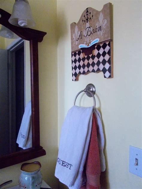 Take this lovely luminary for example: Look for this Le Bain sign at K. Melville Designs on Etsy.   Hanging wall decor, Wall hanging ...