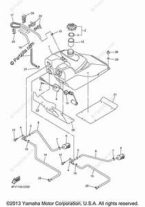Yamaha Snowmobile 2005 Oem Parts Diagram For Fuel Tank