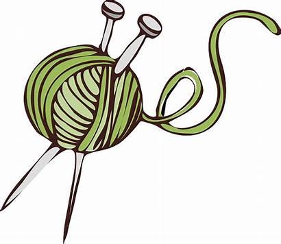 Yarn Needles Ball Wool Vector Graphic Knitting