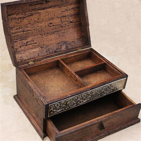 designer jewelry box and rustic jewelry boxes design made from wood with