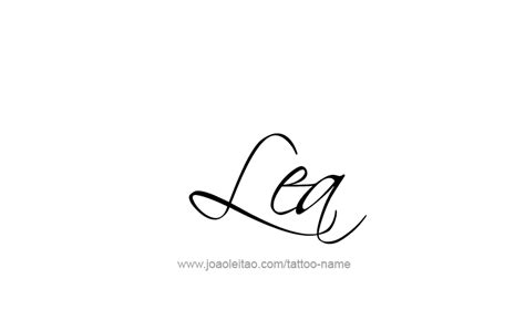 lea  tattoo designs