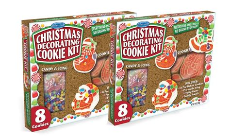 christmas cookie decorating kit 2 pack groupon