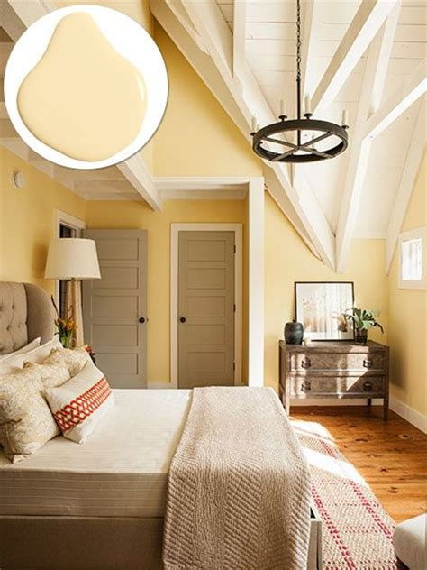 Bedroom Decorating Ideas Yellow Paint by Best 25 Yellow Walls Ideas On Yellow Walls