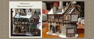 Maison De Noel Miniature : nouveau look pour une maison lemax petits mondes miniatures de no l ~ Nature-et-papiers.com Idées de Décoration