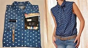 transformer une chemise en chemise lavalliere pop couture With chambre bébé design avec chemise a fleur pour homme