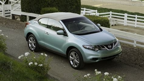 Convertible Nissan Suv by Nissan Murano Crosscabriolet Suv Crossover Convertible