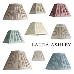 laura ashley pleated 100 silk ceiling pendant table l