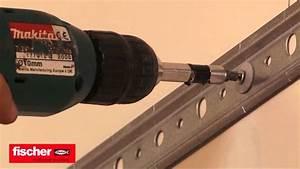 Come montare un pensile da cucina su cartongesso con tassello fischer SBN9 4 YouTube