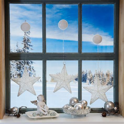 Led Fensterdeko Weihnachten by Led Fensterdeko Sternengl 252 Ck 3er Set Kaufen Bei