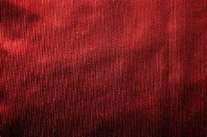 Red Fabric Texture Background - PhotoHDX
