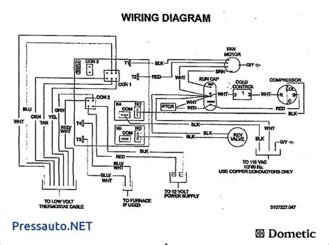 Dometic Furnace Wiring by Dometic Thermostat Wiring Diagram