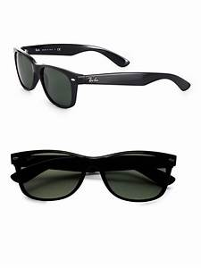 Ray-ban New Wayfarer Sunglasses in Green for Men (black ...