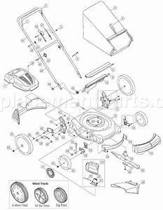 Yard Man 11a-54mb055 Parts List And Diagram