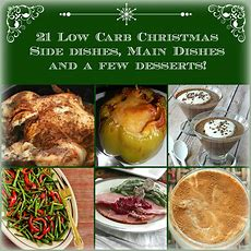 21 Low Carb Side Dishes, Main Dishes & Desserts! #lchf