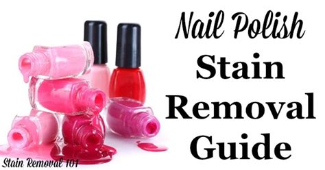 Remove Nail From Upholstery by Nail Stain Removal Guide