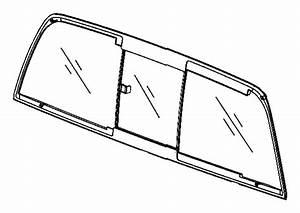 Dodge Ram 1500 Glass  Backlite  Sliding  Repair  Nonpower
