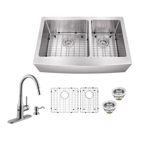 recaulking kitchen sink schon all in one farmhouse apron front stainless steel 36 1733