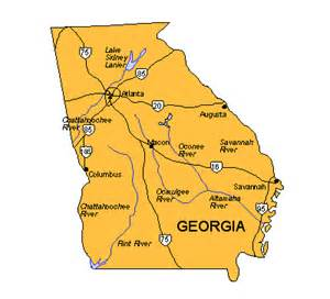 Georgia State Major Cities