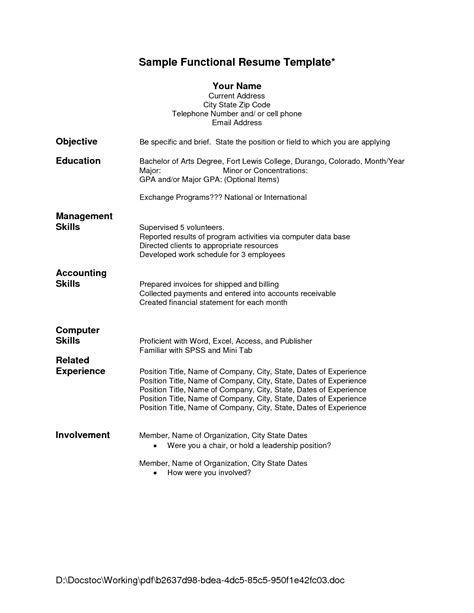 How Do You Format A Resume by Resume Education Format Ipasphoto