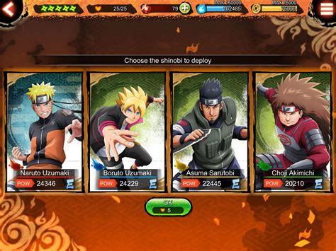 Naruto X Boruto Ninja Voltage Tips Cheats And Strategies